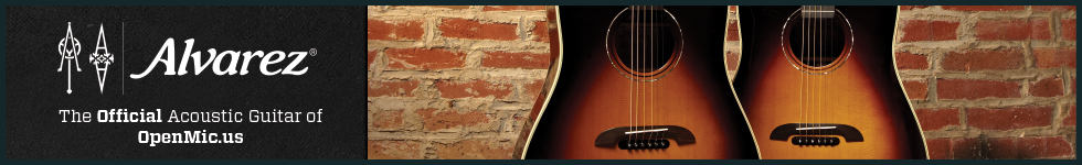 Alvarez - Official Acoustic Guitar of OpenMic.US